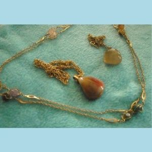 Set of 3 Gemstone necklaces